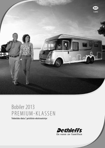 Bobiler 2013 Premium-KlasseN - Dethleffs