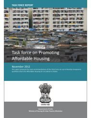Task force on Promoting Affordable Housing - Naredco