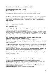 Protokoll der Schulkonferenz vom 22.3.2012 - Gymnasium am ...