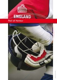 ECB Annual Report & Accounts 2006 - Roll of Honour