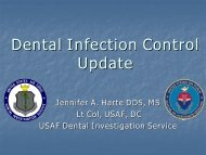 2004 Infection Control Update - Dental Management Coalition