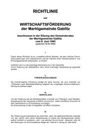 Richtlinie Wirtschaftsförderung (69 KB) - .PDF - Gablitz