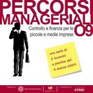 Controllo e finanza per le piccole e medie imprese - Unione ...