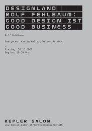 Heft_Fehlbaum_20091030.pdf - Kepler Salon