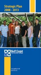 Strategic Plan - Gulf Coast Community College