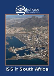 ISS in South Africa - Inchcape Shipping Services
