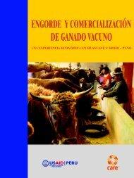 Engorde y comercialización de ganado vacuno: una experiencia ...