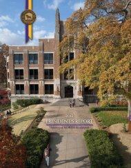 PRESIDENT'S REPORT - University of North Alabama