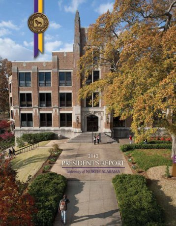 PRESIDENT'S REPORT - University of North Alabama