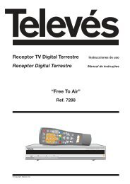 Receptor TV Digital Terrestre Receptor Digital Terrestre ... - TelSat
