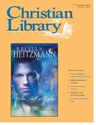 PDF - Christian Library Journal