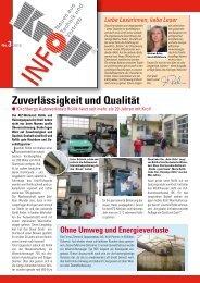 Zuverlässigkeit und Qualität - Kroll GmbH