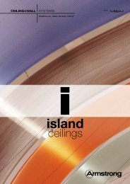 Island ceilings - Armstrong