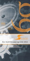 ifss academy Katalog 2012