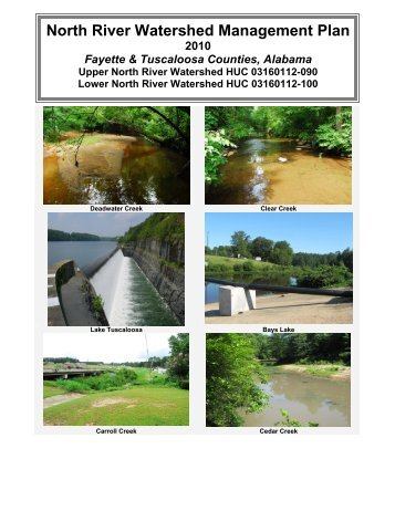 alabama clean water - North River Watershed Management Plan