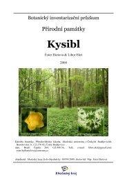 Kysibl - Katedra botaniky - Jihočeská univerzita