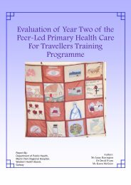 Evaluation of Year Two of the Peer-Led Primary Health Care For ...