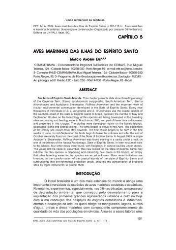 PDF - capítulo 5.p65 - Projeto Aves Marinhas