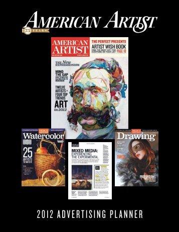 2012 Advertising PlAnner - Interweave