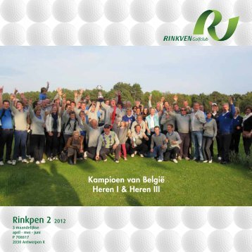 Rinkpen 2 2012 - Rinkven Golf Club