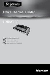Helios 30 Manual - Fellowes