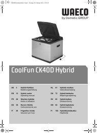 CoolFun CK40D Hybrid - Waeco