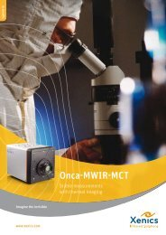 Onca-MWIR-MCT - Spectral Cameras