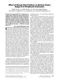 Effect of Chronic Heart Failure on Nuclear Factor ... - Nephrologie