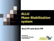 ALLU Mass-Stabilization system - Psndealer.com psndealer