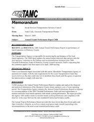 Memorandum - Transportation Agency for Monterey County