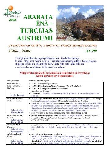 TURCIJAS AUSTRUMI