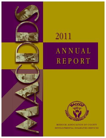 2011 Report - Missouri Association of County Development ...
