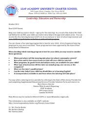 SES letter to parents and enrollment form.pdf - LEAP Academy ...