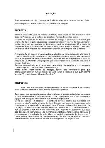 Prova comentada - Vestibular UFSC/2011
