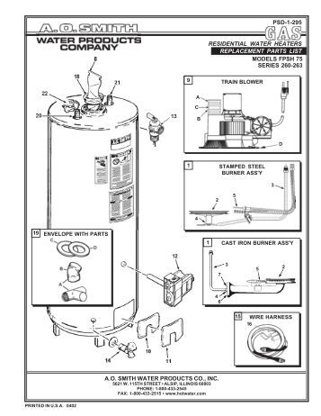 Wiring Diagram For Propane Heater