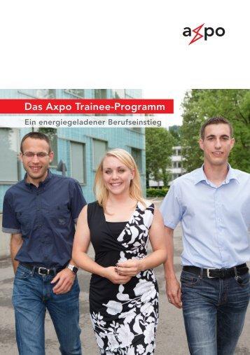 Das Axpo Trainee-Programm - Absolventenkongress