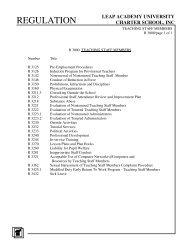 3000: Teaching Staff - LEAP Academy University Charter School