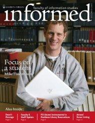 Winter 2005 - Faculty of Information - University of Toronto
