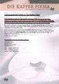 Laden Sie hier unseren Prospekt mit Fotos ... - Die Kaffee Firma - Page 5