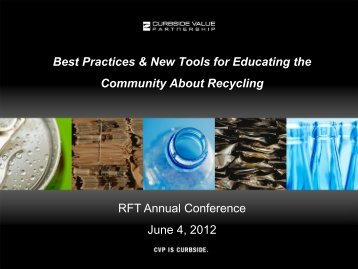 Best Practices & New Tools for Educating the Community About ...