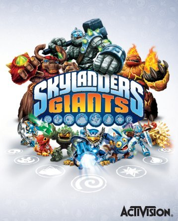 skylanders giants manuale ps3