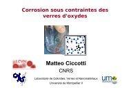 Corrosion sous contrainte