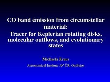 presentation - Stellar Physics Department