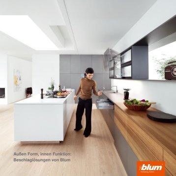 Außen Form, innen Funktion: Beschlaglösungen von Blum - VLOW!