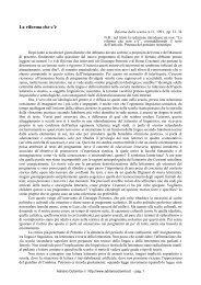 La riforma che c'è (1991) - Adrianocolombo.it