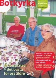 Länk till Botkyrka Tidning 5/2010 i pdf-format - Socialdemokraterna