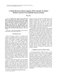 A Model Reference-Based Adaptive PID Controller for Robot Motion ...