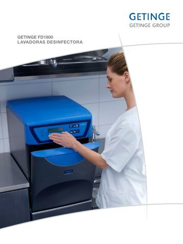 getinge fd1800 lavadoras desinfectora - Getinge Infection Control