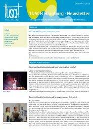 TuSch-Newsletter Dezember - Gretel-Bergmann-Schule