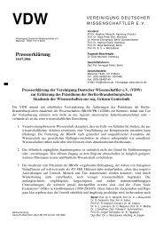 VDW - gegen Gentechnik - Gen-Dialog Europa